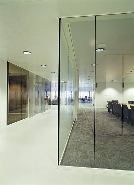 Contraflam Structure Greenlite Glass System